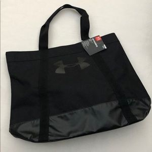 NWT Under Armour Black Large Tote